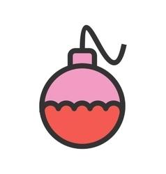 Decoration ball vector