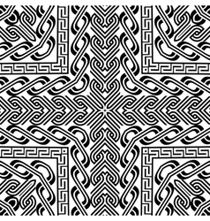 abstract vintage pattern background Not seamless vector image
