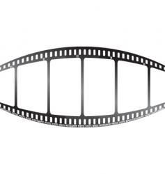 white film bulge vector image