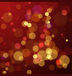 bokeh blur abstract background with lights new vector image