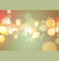 Bokeh light background vector