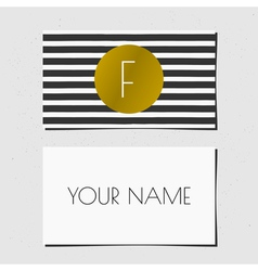 Business card bwgold 2015 7 vector
