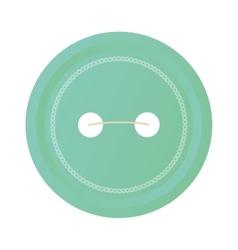 Button icon blue traditional button design vector