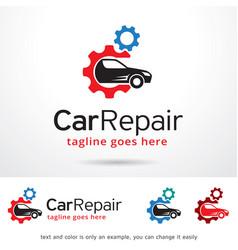 Car logo template vector