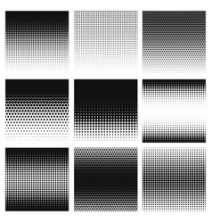 Halftone gradient halftone dots graphic digital vector