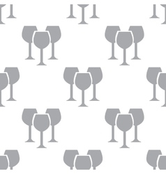 New Stemware seamless pattern vector image