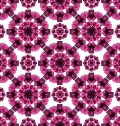 Pattern volumetric cubes vector image