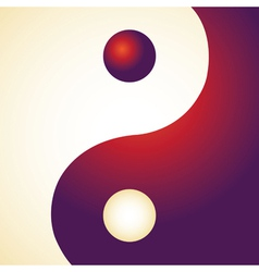 Ying Yang Patterns vector