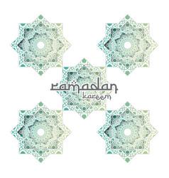 Abstract mandala pattern element design vector