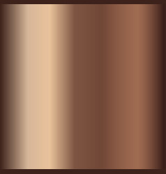 bronze gradient for backgrounds vector image