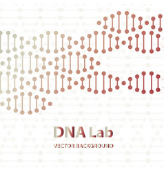 Dna sequence shiny background science eps10 vector
