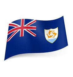 Flag of Anguilla vector image