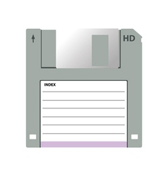 old data media vector image