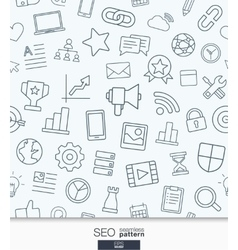 SEO wallpaper Black and white marketing seamless vector