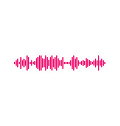 waves equalizer isolated on background eq vector image