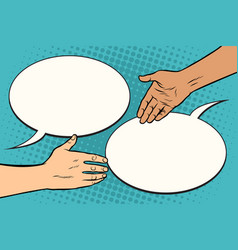 Contract handshake meeting vector