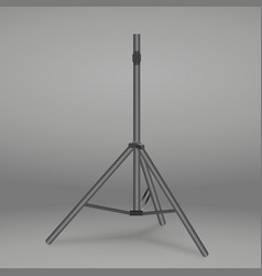 empty stand tripod vector image