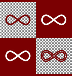 Limitless symbol bordo and vector