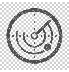 Radar Grainy Texture Icon vector