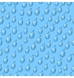 Sky with Rain Seamless vector image