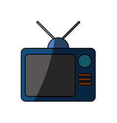 Tv entertainment symbol vector