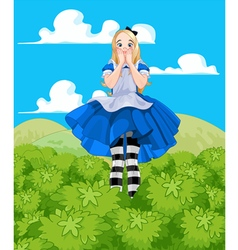 Alice Grow-up vector image vector image
