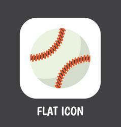 of active symbol on baseball vector image