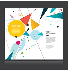 Abstract geometric background eps 10 vector