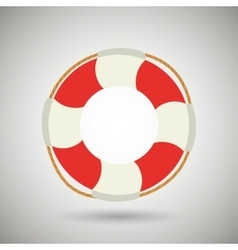 float isolated design vector image