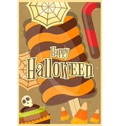 Halloween Sweet Treats vector image vector image