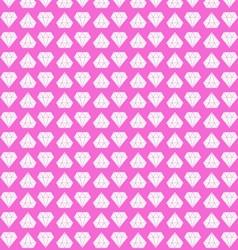 pink diamond background vector image