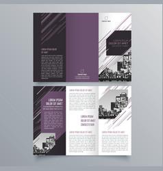 Brochure design 884 vector