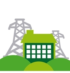 energy industry concept icon vector image
