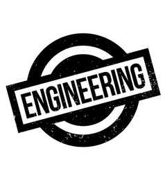 Engineering rubber stamp vector