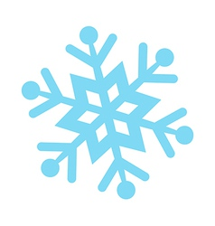 Icon snow vector