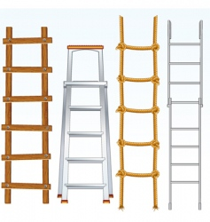 ladders vector image