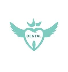 logo dental vector image vector image