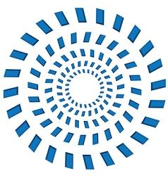Rotating circles vector