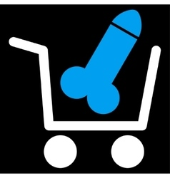 Sex Shopping Icon vector image
