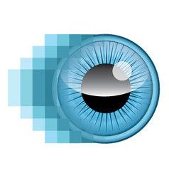 Pixel Eye vector image vector image