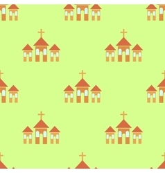 Religion icon seamless pattern vector