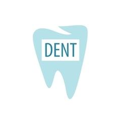 logo dental vector image