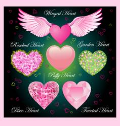 valentine specials vector image vector image