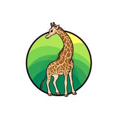 Animal art cute cartoon style vector