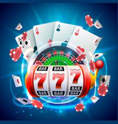 Casino 3d cover vector