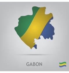 country gabon vector image