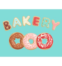 Donuts Poster vector