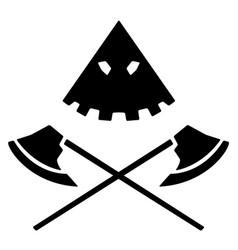 Executioner emblem vector