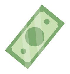 money bills cartoon vector image