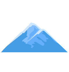 mountain adversting icon for vector image